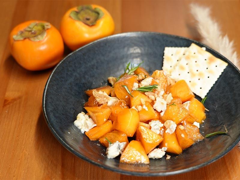 柿ブルーチーズ